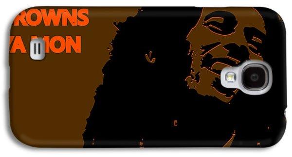 Cleveland Browns Ya Mon Galaxy S4 Case by Joe Hamilton