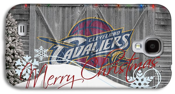 Dunk Galaxy S4 Cases - Cleveland Cavaliers Galaxy S4 Case by Joe Hamilton