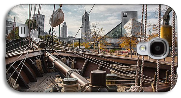 Cleveland From The Deck Of The Peacemaker Galaxy S4 Case by Dale Kincaid