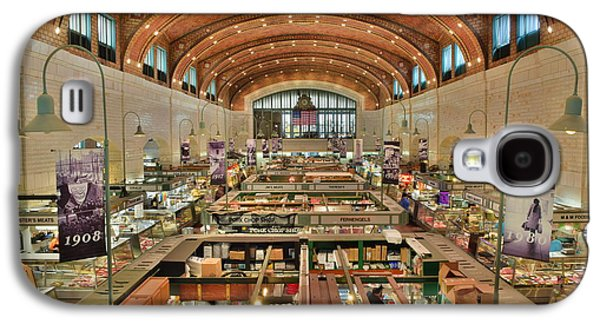 Terminal Photographs Galaxy S4 Cases - Clevelands West Side Market Galaxy S4 Case by Frozen in Time Fine Art Photography