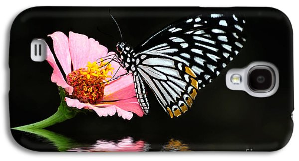 Insects Digital Galaxy S4 Cases - Cliche Galaxy S4 Case by Lois Bryan