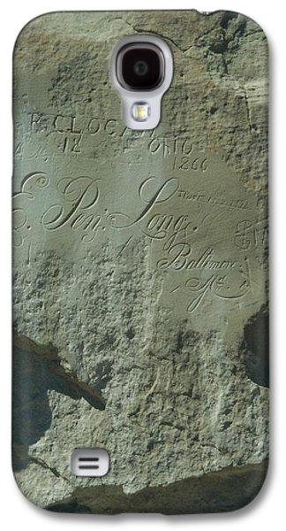 Ancient Galaxy S4 Cases - Cliff at El Morro Galaxy S4 Case by Jodi Murphy