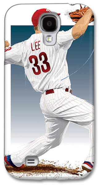 Cliff Lee Galaxy S4 Case by Scott Weigner
