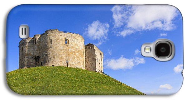 Fantasy Photographs Galaxy S4 Cases - Cliffords Tower York Galaxy S4 Case by Colin and Linda McKie