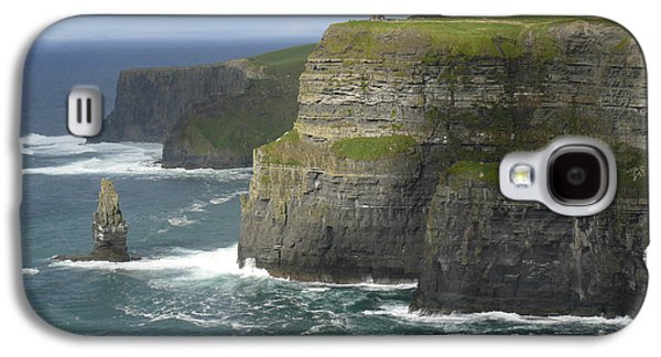 Seascape Digital Galaxy S4 Cases - Cliffs of Moher 2 Galaxy S4 Case by Mike McGlothlen