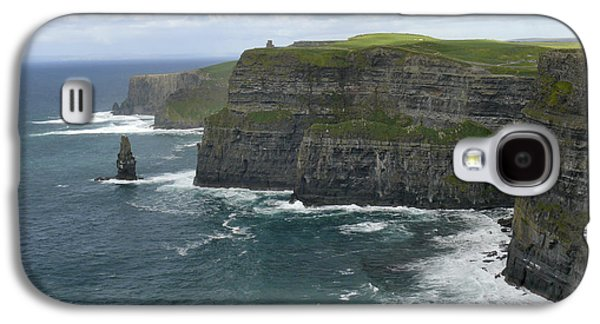 Ireland Galaxy S4 Cases - Cliffs of Moher 3 Galaxy S4 Case by Mike McGlothlen