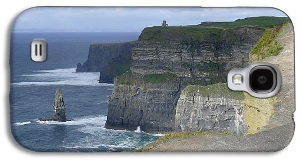 Ledge Galaxy S4 Cases - Cliffs of Moher 4 Galaxy S4 Case by Mike McGlothlen