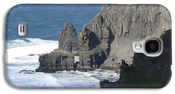 Ledge Galaxy S4 Cases - Cliffs of Moher 6 Galaxy S4 Case by Mike McGlothlen