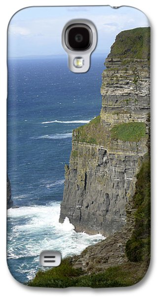 Vertical Digital Art Galaxy S4 Cases - Cliffs of Moher 7 Galaxy S4 Case by Mike McGlothlen