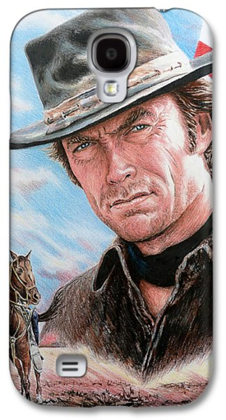 4th July Galaxy S4 Cases - Clint Eastwood American Legend Galaxy S4 Case by Andrew Read