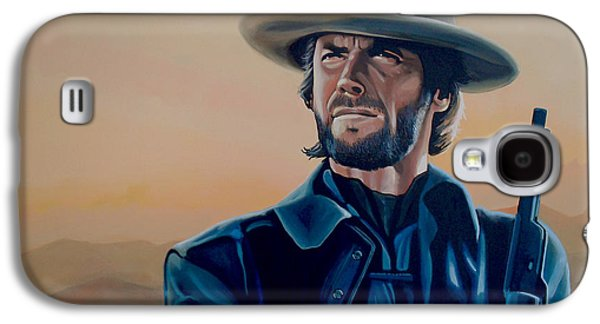 Madison Galaxy S4 Cases - Clint Eastwood  Galaxy S4 Case by Paul  Meijering