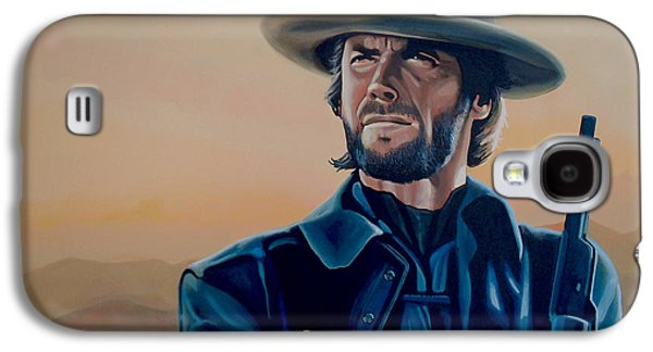 Dirty Galaxy S4 Cases - Clint Eastwood  Galaxy S4 Case by Paul  Meijering