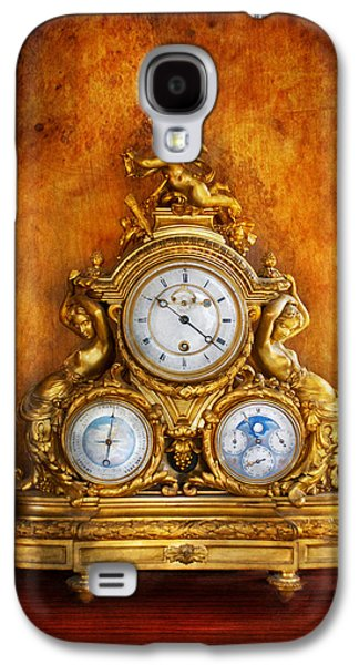 Clockmaker - Anyone Have The Time Galaxy S4 Case by Mike Savad