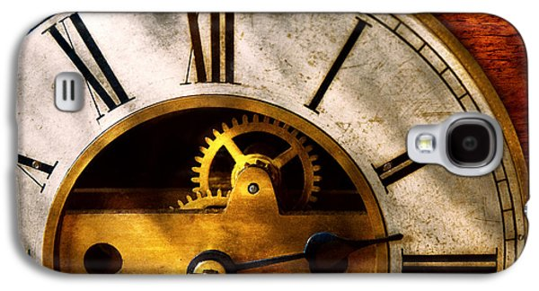 Timing Galaxy S4 Cases - Clockmaker - What time is it Galaxy S4 Case by Mike Savad