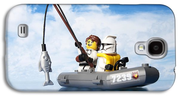 Toy Boat Galaxy S4 Cases - Clone trooper fishing trip Galaxy S4 Case by Samuel Whitton