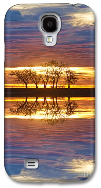 Landscape Acrylic Prints Galaxy S4 Cases - Close Encounters Two Galaxy S4 Case by James BO  Insogna