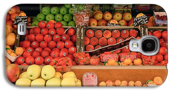 Close-up Of Fruits In A Market, Rue De Galaxy S4 Case by Panoramic Images