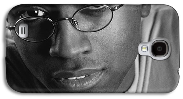 African-american Galaxy S4 Cases - Close-up Of Man Galaxy S4 Case by Darren Greenwood