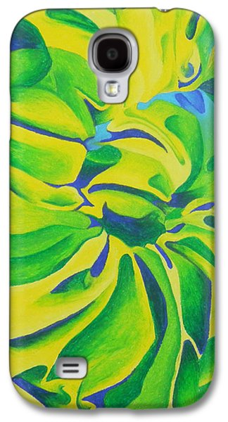 Spiral Pastels Galaxy S4 Cases - Cloth Spiral Galaxy S4 Case by Arielle Barr