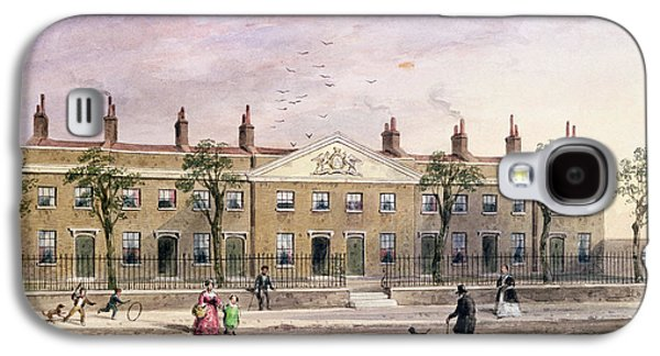 Clothworkers Almhouses In Frog Lane Wc On Paper Galaxy S4 Case by Thomas Hosmer Shepherd