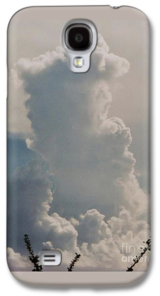 Rare Moments Galaxy S4 Cases - Cloud Faces St. Thomas Galaxy S4 Case by Marcus Dagan