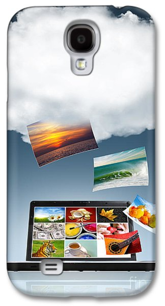 Data Photographs Galaxy S4 Cases - Cloud Technology Galaxy S4 Case by Carlos Caetano