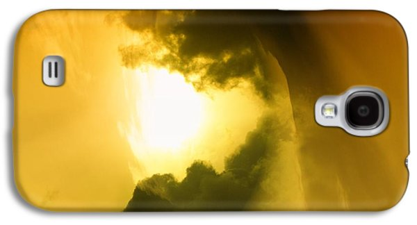 Abstract Digital Photographs Galaxy S4 Cases - Cloud Whirl Galaxy S4 Case by Jeff  Swan