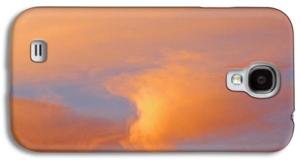 Nature Abstracts Galaxy S4 Cases - Clouds At Sunrise Galaxy S4 Case by Dan Sherwood