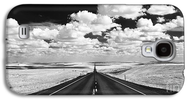 Weed Line Galaxy S4 Cases - Clouds on Top Galaxy S4 Case by Henk Meijer Photography