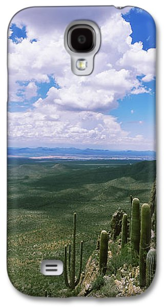 Studio Photography Galaxy S4 Cases - Clouds Over A Landscape, Tucson Galaxy S4 Case by Panoramic Images