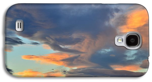 Fort Collins Galaxy S4 Cases - Clouds over Colorado Galaxy S4 Case by Ray Mathis