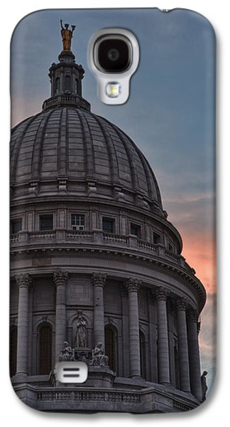 Clouds Over Democracy Galaxy S4 Case by Sebastian Musial