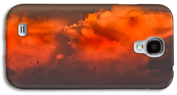 Gloaming Galaxy S4 Cases - Clouds Over Emmett Foothills Galaxy S4 Case by Robert Bales