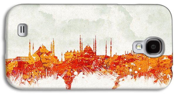 Financial Mixed Media Galaxy S4 Cases - Clouds Over Istanbul Turkey Galaxy S4 Case by Aged Pixel
