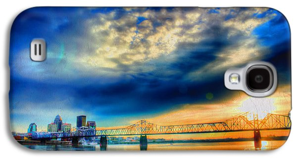 Indiana Scenes Galaxy S4 Cases - Clouds over Louisville Galaxy S4 Case by Darren Fisher