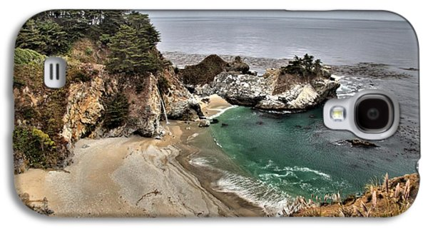 Big Sur Ca Galaxy S4 Cases - Clouds Over McWay Galaxy S4 Case by Adam Jewell