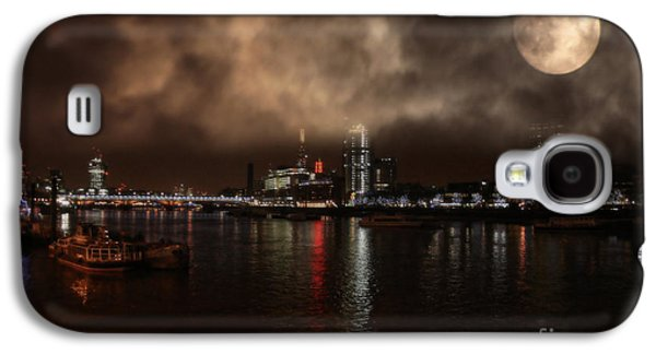 Owner Mixed Media Galaxy S4 Cases - Clouds Over The River Thames Galaxy S4 Case by Michael Braham