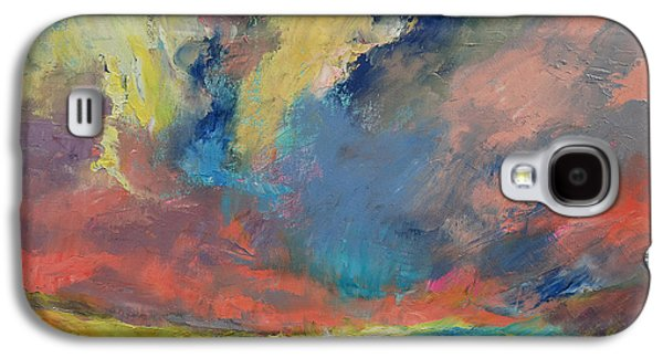 Tangerines Galaxy S4 Cases - Cloudscape Galaxy S4 Case by Michael Creese