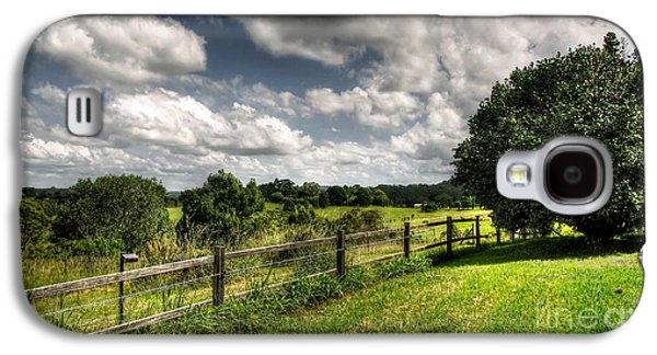 Cloudy Day In The Country Galaxy S4 Case by Kaye Menner