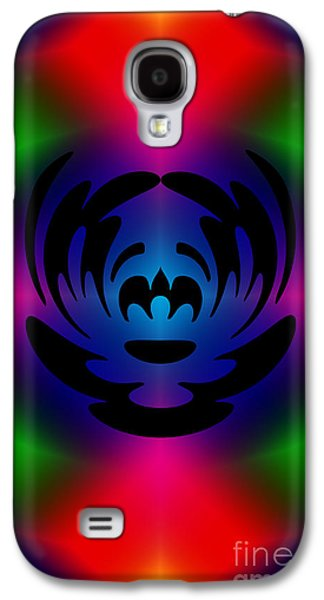 Op Art Photographs Galaxy S4 Cases - Clown In Color Galaxy S4 Case by Steve Purnell