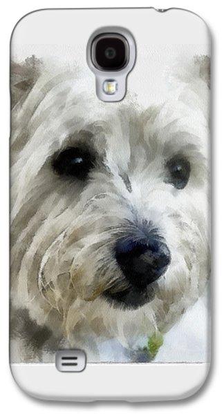 Westie Digital Galaxy S4 Cases - Clyde Galaxy S4 Case by Bob Galka