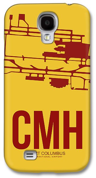 Collection Galaxy S4 Cases - CMH Columbus Airport Poster 3 Galaxy S4 Case by Naxart Studio