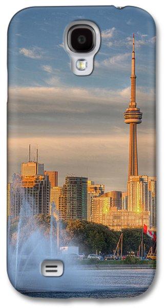 Outdoor Galaxy S4 Cases - CN Tower Toronto Galaxy S4 Case by Genaro Rojas