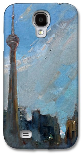 Toronto Galaxy S4 Cases - Cn Tower Toronto Galaxy S4 Case by Ylli Haruni