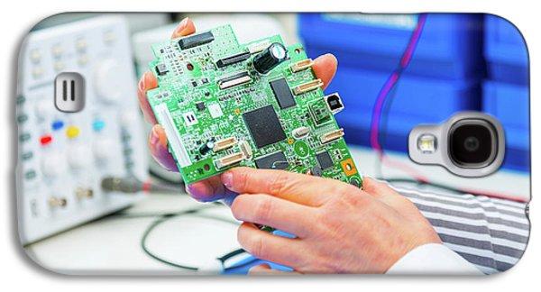 Cnc System Galaxy S4 Case by Wladimir Bulgar