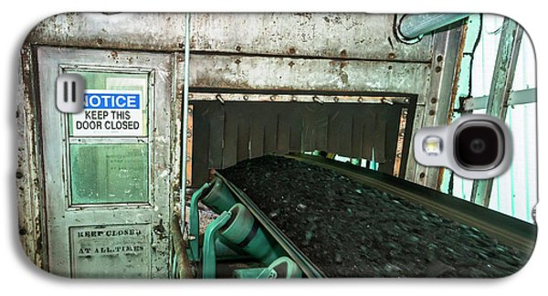 Coal-fired Power Station Conveyor Galaxy S4 Case by Jim West