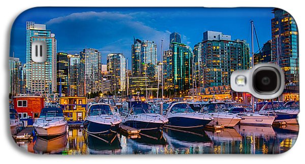 Vancouver Photographs Galaxy S4 Cases - Coal Harbour Galaxy S4 Case by Ian Stotesbury