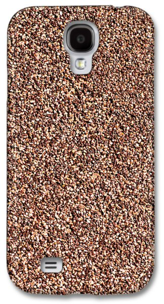 Coarse Grained Texture Galaxy S4 Case by Alexander Senin
