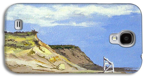 Chatham Paintings Galaxy S4 Cases - Coast Guard Beach Eastham Cape Cod Massachusetts Galaxy S4 Case by Christine Hopkins