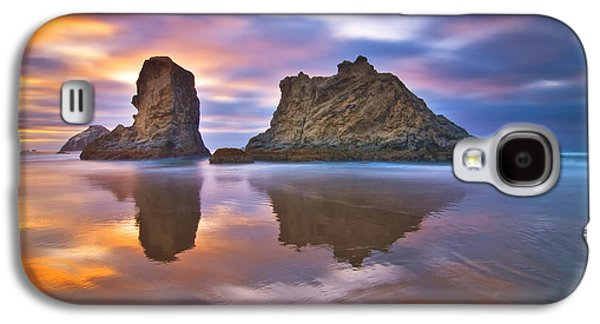 Reflections Galaxy S4 Cases - Coastal Cloud Dance Galaxy S4 Case by Darren  White